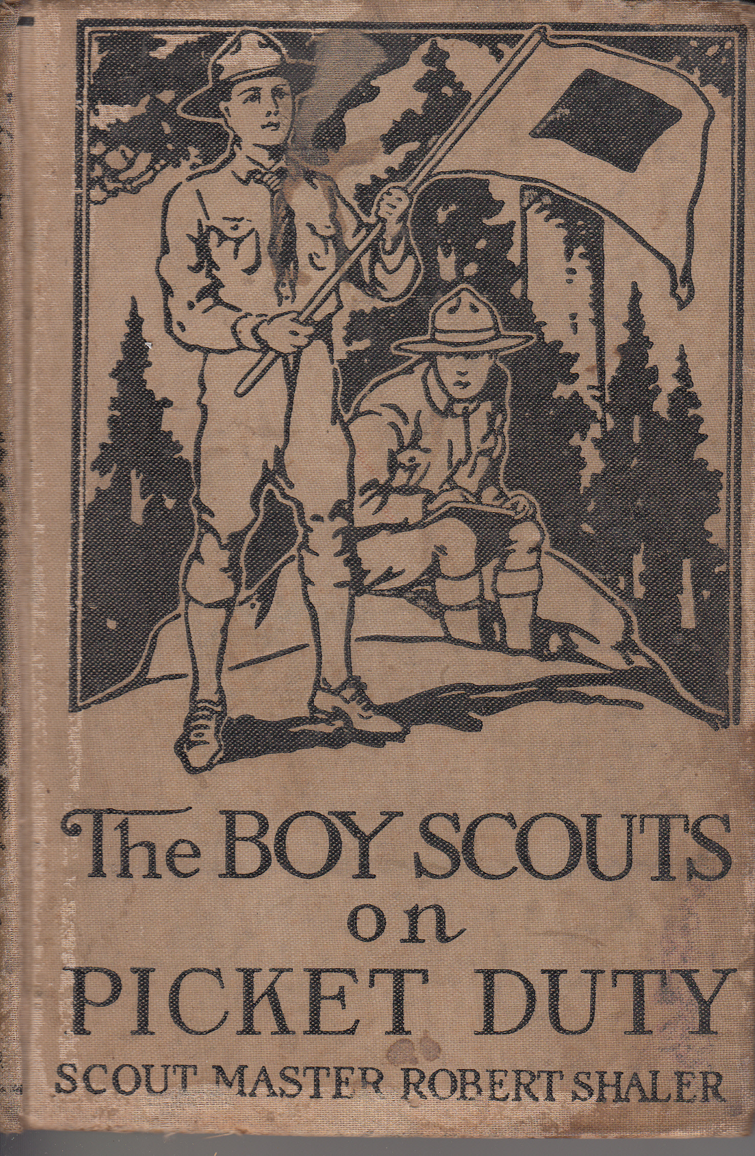 The Boy Scouts on Picket Duty Robert Shaler
