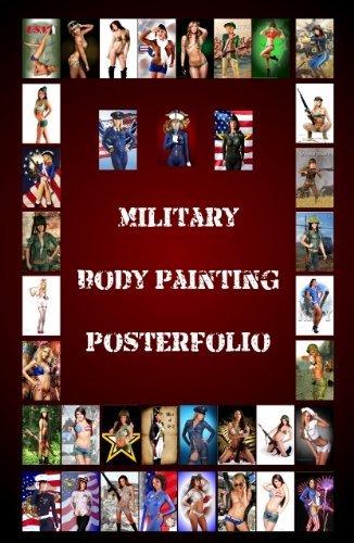Military Body Painting PosterFolio EngelArt
