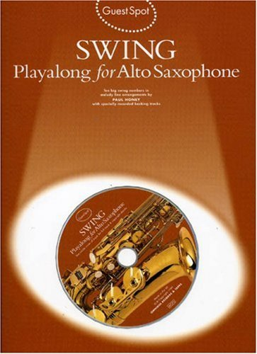 Swing: Playalong for alto saxophone  by  Various