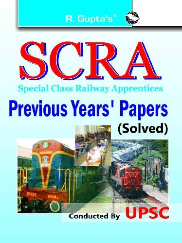SCRA Previous Solved Papers: Previous Years Papers Solved (2015 Edition)  by  RPH Editorial Board