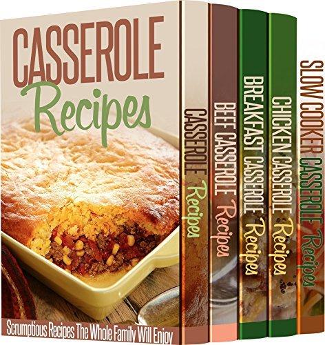 5 Astonishing Casserole Recipe Books to Stake Your Life On: 118 Casserole Recipes That Will Make Your Heart Melt  by  Sue Ellen McCormack