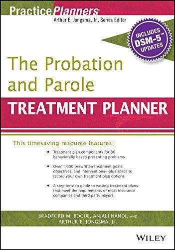 The Probation and Parole Treatment Planner, with DSM 5 Updates  by  Arthur E. Jongsma