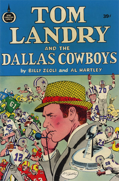 Tom Landry and the Dallas Cowboys  by  Tom Landry