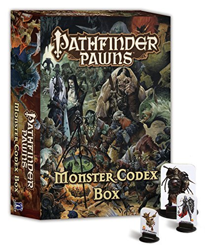 Pathfinder Pawns: Monster Codex Box Paizo Publishing
