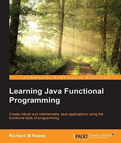 Learning Java Functional Programming Richard M Reese