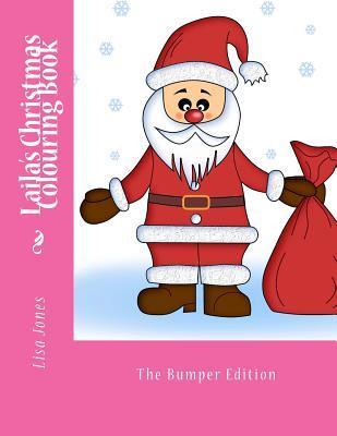 Lailas Christmas Colouring Book Lisa     Jones