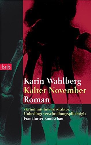 Kalter November: Roman Karin Wahlberg