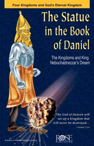 Statue in the Book of Daniel pamphlet- package of 5 pamphlets  by  Rose Publishing
