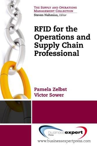 RFID for the Supply Chain and Operations Professional  by  Pamela J. Zelbst