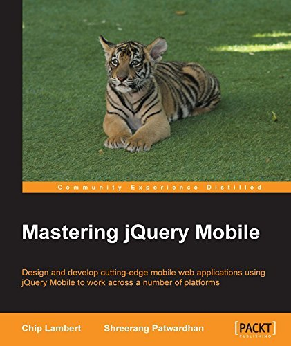 Mastering jQuery Mobile  by  Chip Lambert
