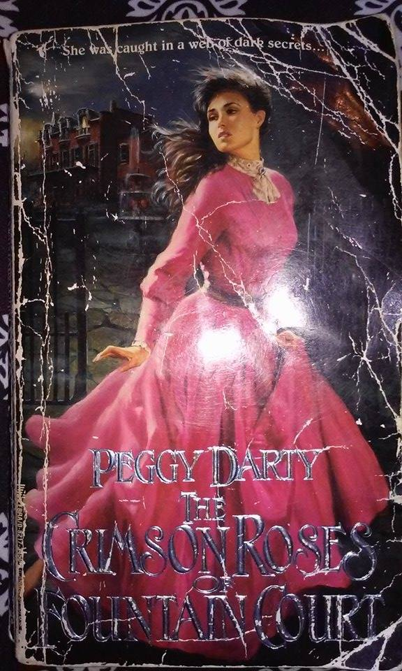 The Crimson Roses of Fountain Court  by  Peggy Darty