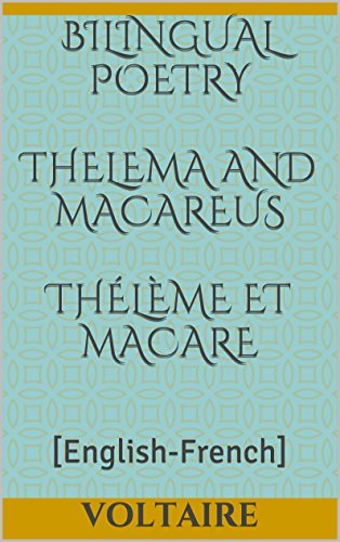 Thelema and Macareus / Thélème et Macare Voltaire