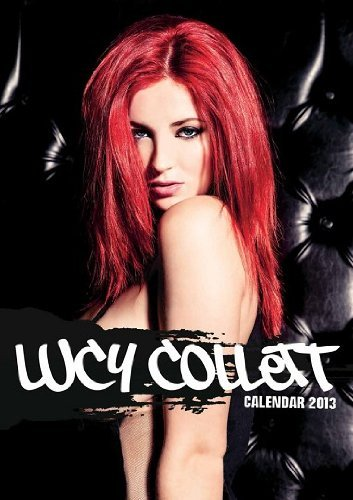 Lucy Collette 2013 Official Calendar  by  www.redhotglamourgirls.com