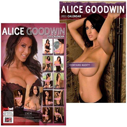 Alice Goodwin Official 2011 calendar www.redhotglamourgirls.com