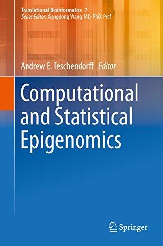 Computational and Statistical Epigenomics Andrew E. Teschendorff