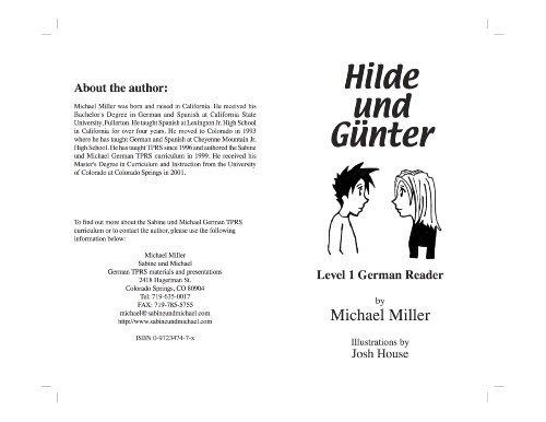 Hilde und Günter Level 1  by  Michael Miller