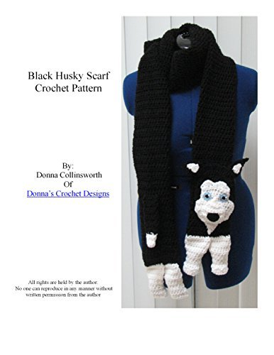 Husky Dog Scarf Crochet Pattern Donna Collinsworth