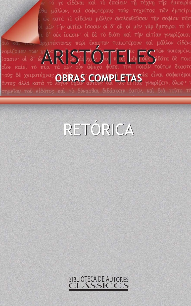 Retórica Aristóteles