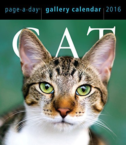 Cat Page-A-Day Gallery Calendar 2016 Workman Publishing