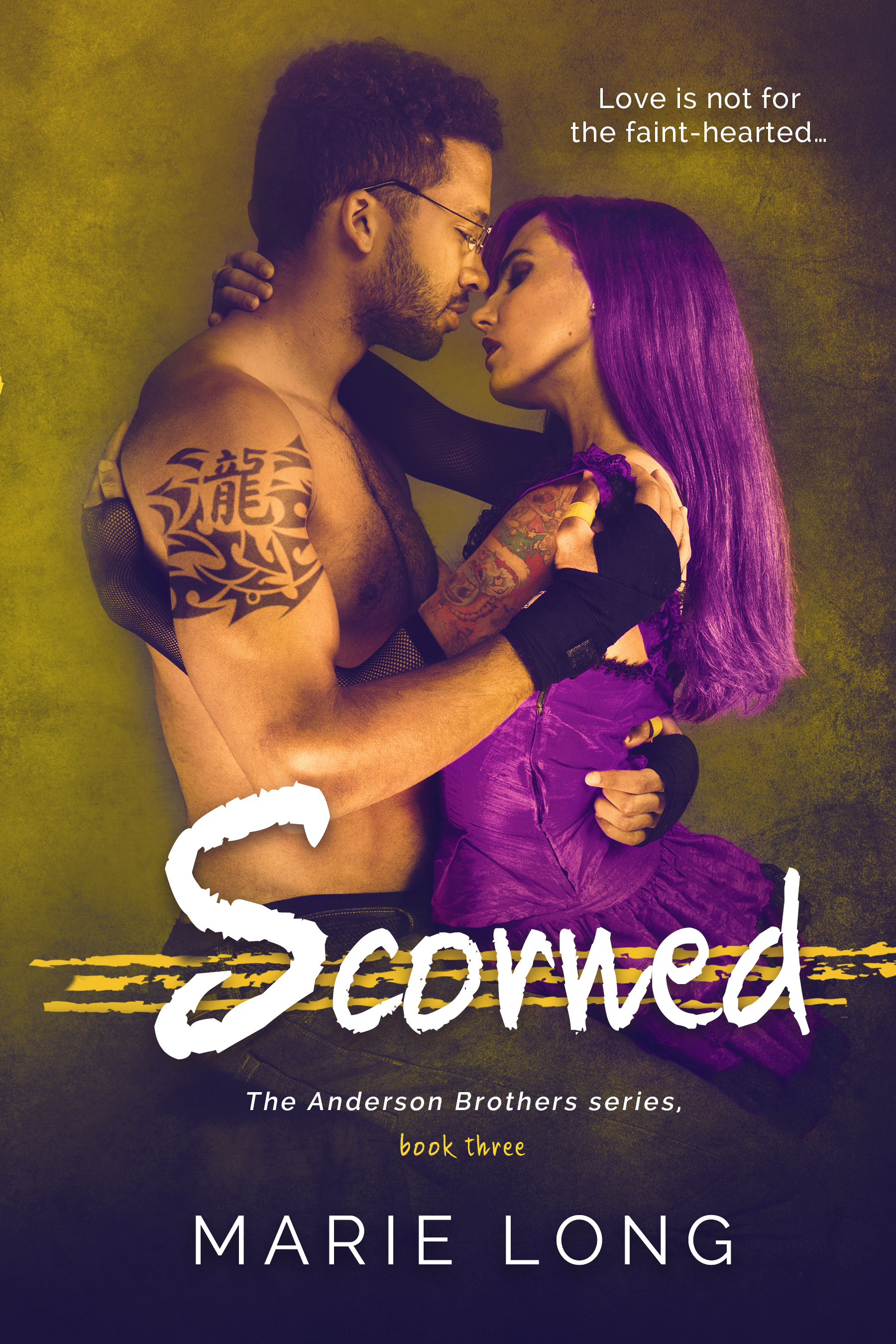 Scorned (The Anderson Brothers, #3) Marie Long