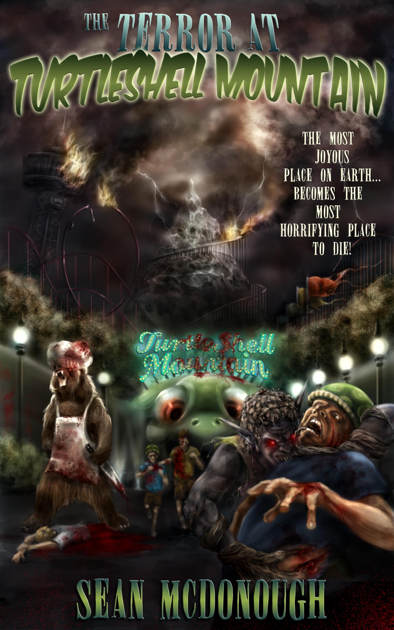 The Terror At Turtleshell Mountain  by  Sean  McDonough