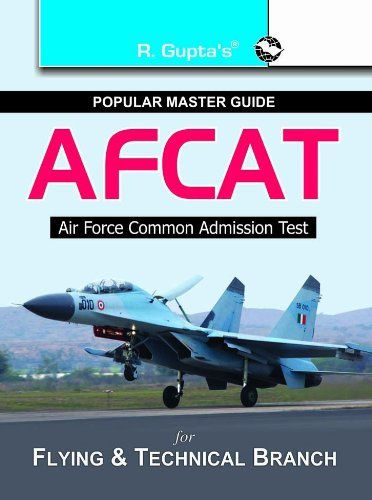 AFCAT For Flying and Technical Branch Guide R. Gupta