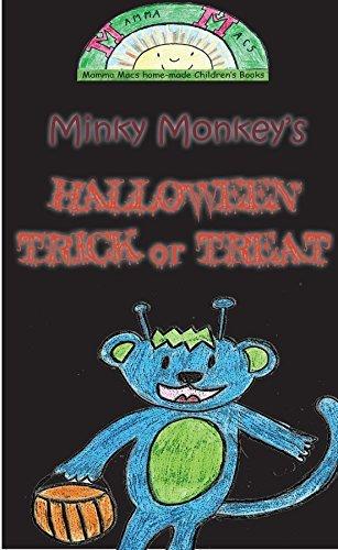 Minky Monkeys Halloween Trick or Treat  by  Mamma Macs