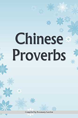 Chinese Proverbs Rosemary Lawton