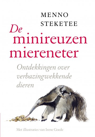 De minireuzenmiereneter Menno Steketee