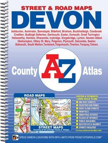 A-Z Devon County Atlas Geographers A-Z