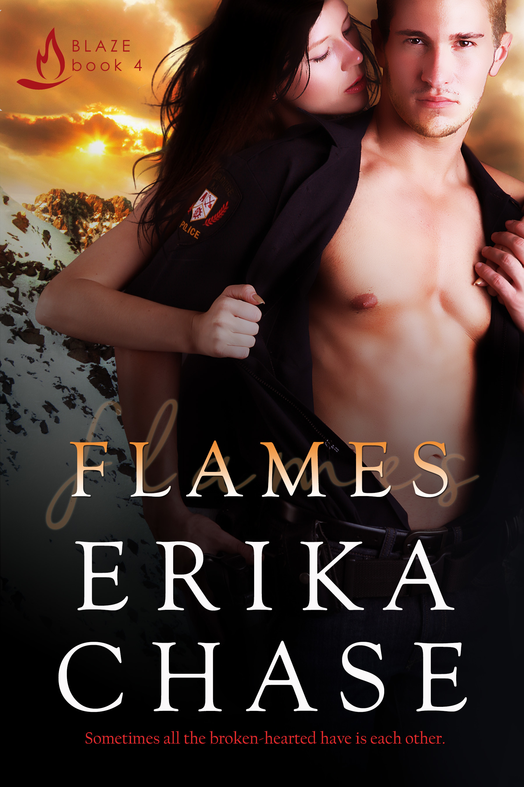 Flames (Blaze #4)  by  Erika Chase
