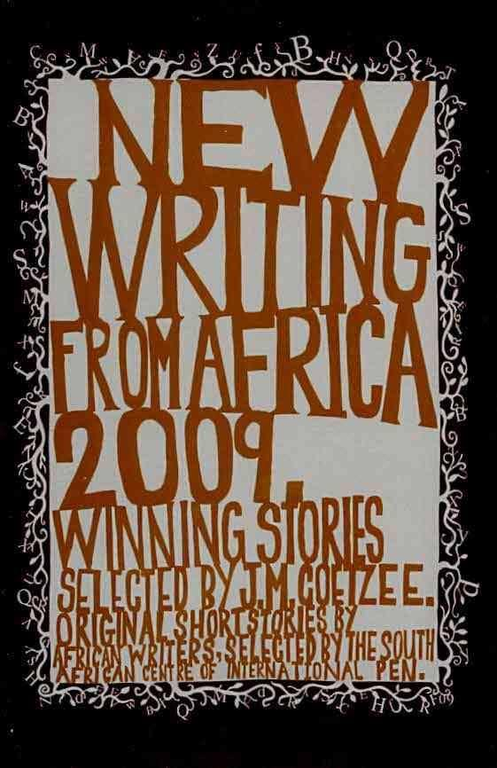 new writing from africa 2009 J.M. Coetzee