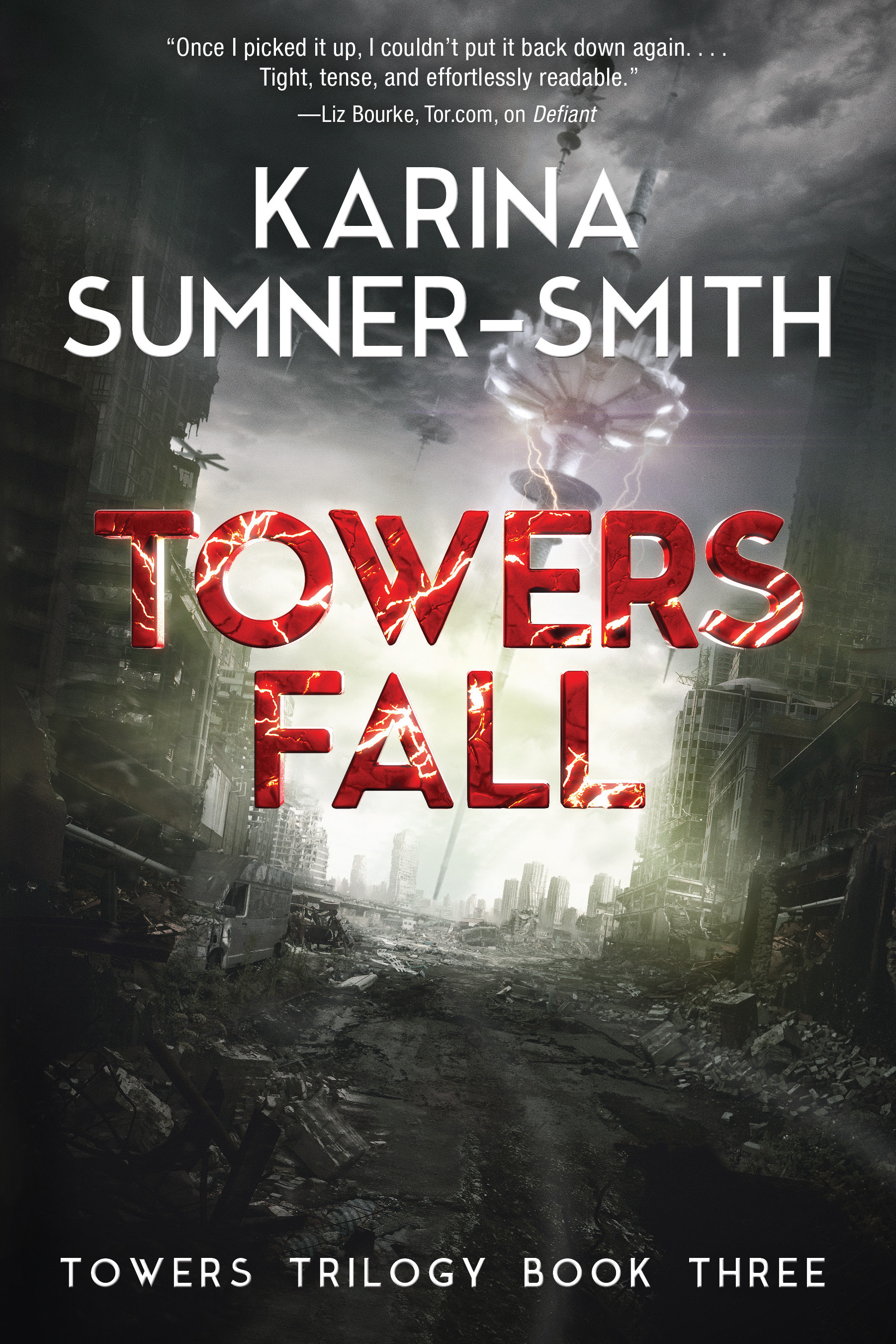 Towers Fall (Towers Trilogy #3) Karina Sumner-Smith