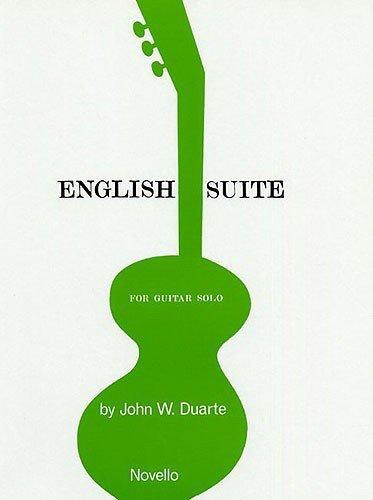 JOHN W. DUARTE ENGLISH SUITE FOR GUITAR GTR  by  Various