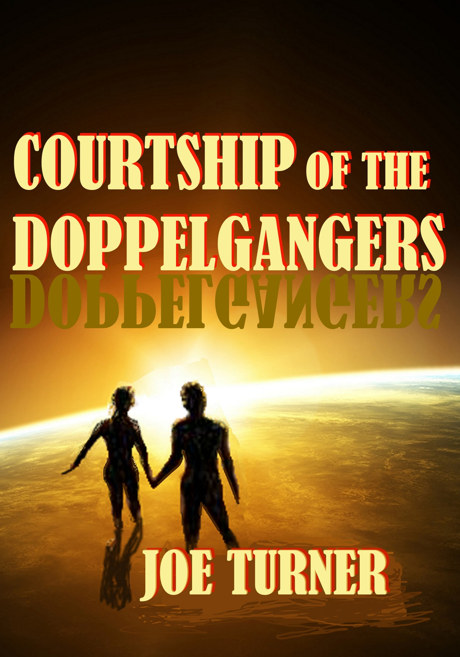 Courtship Of The Doppelgangers  by  Joe Turner