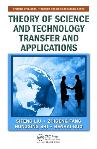 Theory of Science and Technology Transfer and Applications  by  Sifeng Liu