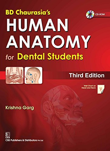 B.D.Chaurasia Human Anatomy for Dental Students With CD and Wall Mart  by  Krishna Garg