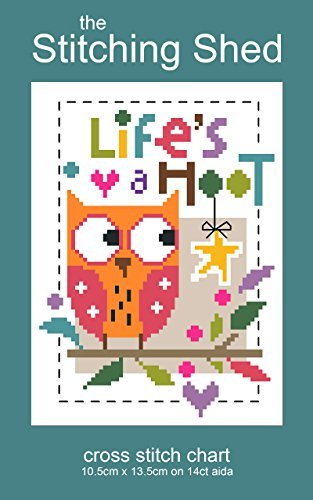 The Stitching Shed Lifes a Hoot cross stitch chart Jayne Schofield
