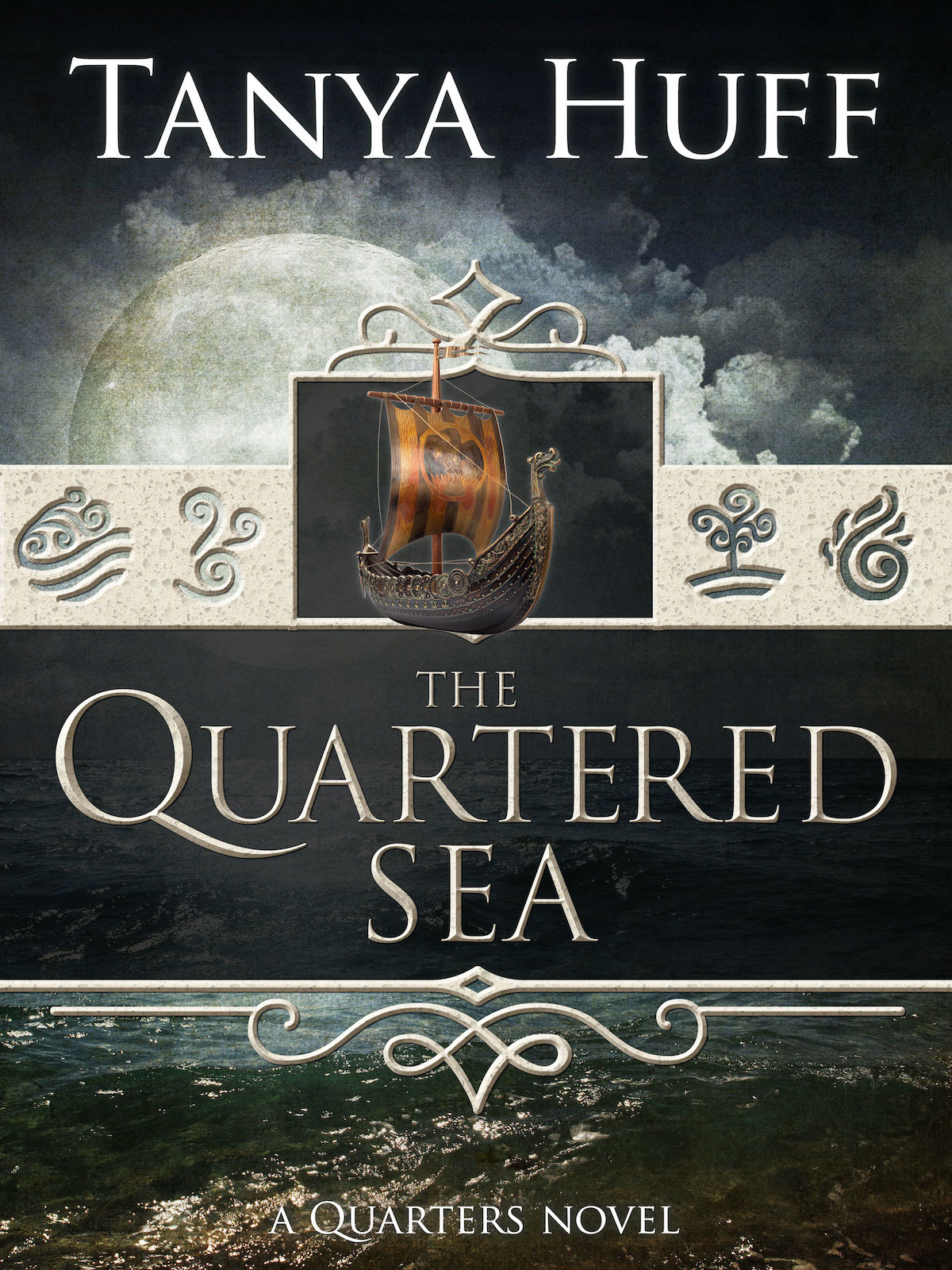 The Quartered Sea (Quarters #4)  by  Tanya Huff