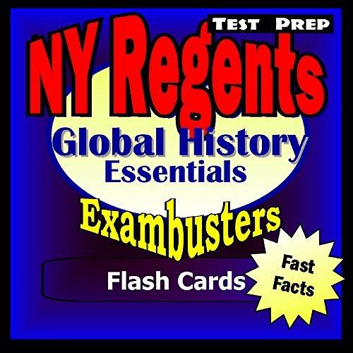 NY Regents Global History Test Prep Review--Exambusters Flashcards: New York Regents Exam Study Guide (Exambusters Regents Book 14)  by  Regents Exambusters