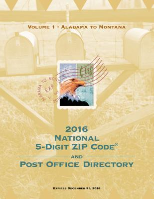 2016 National Zip Code Directory U S Postal Service