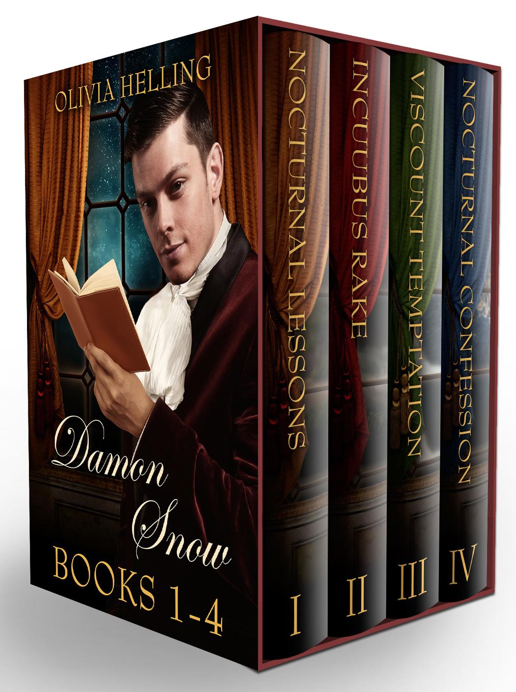 Damon Snow Boxset: Books 1-4 Olivia Helling