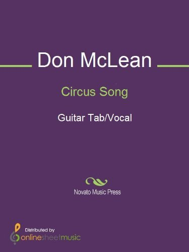 Circus Song  by  Don McLean
