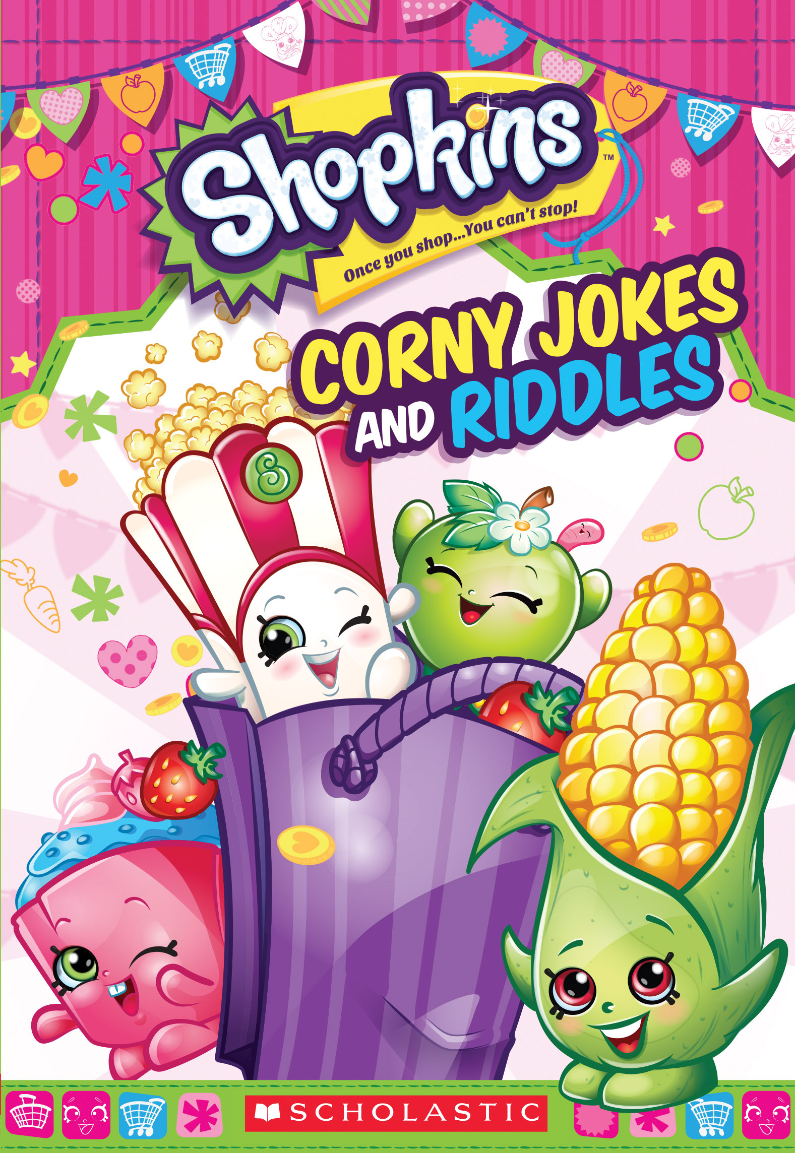 Corny Jokes and Riddles  by  Scholastic Inc.