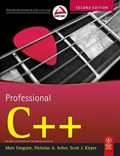 Professional C++  by  Gregoire M.