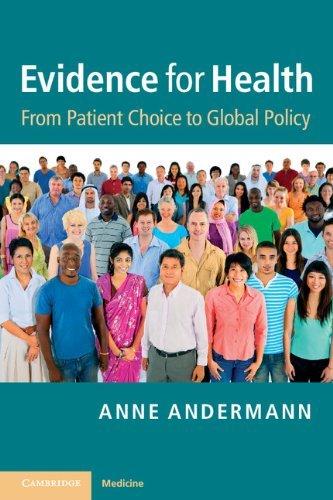 Evidence for Health Anne Andermann