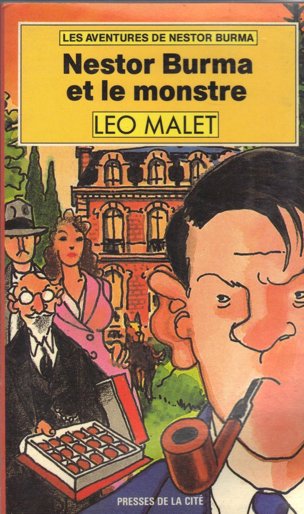 Nestor Burma et le monstre  by  Léo Malet