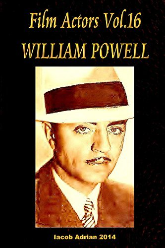 Film Actors Vol.16 William Powell Iacob Adrian
