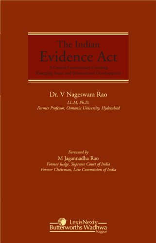 The Indian Evidence Act Dr. V Nageswara Rao