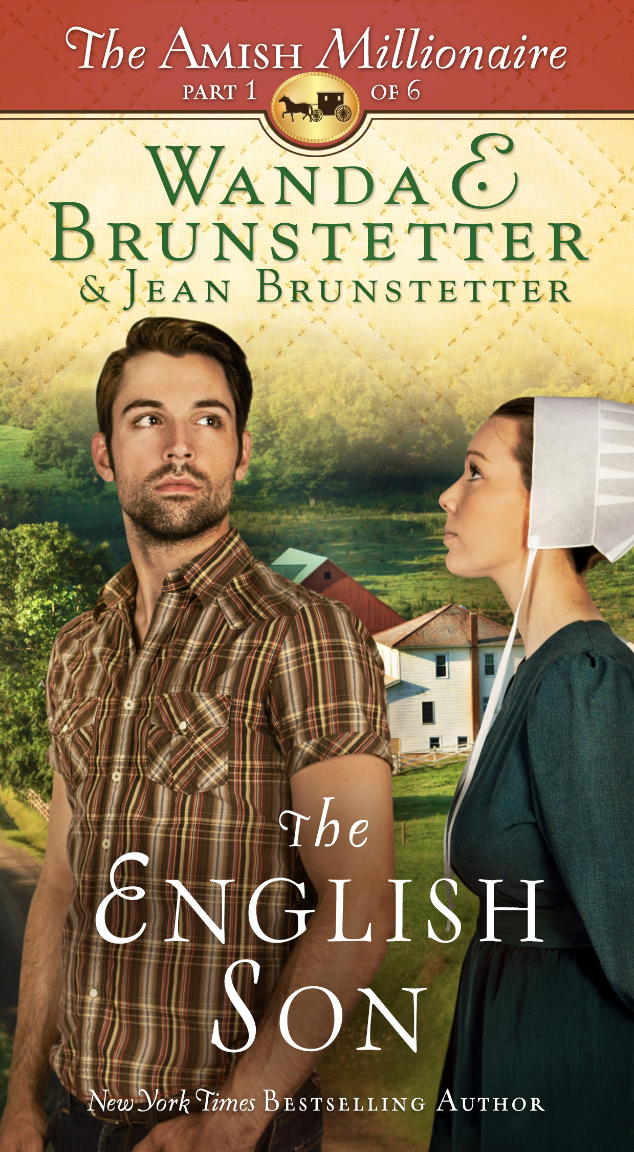 The English Son (The Amish Millionaire #1)  by  Wanda E. Brunstetter